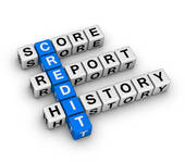 debtor's credit report
